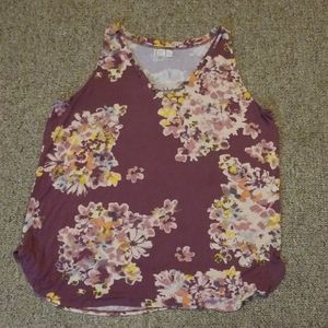 Maurices xxl flowered tank